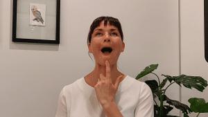 facial yoga melbourne  exercises for sagging neck  jowls