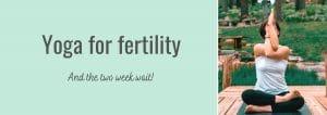 Yoga for fertility Melbourne